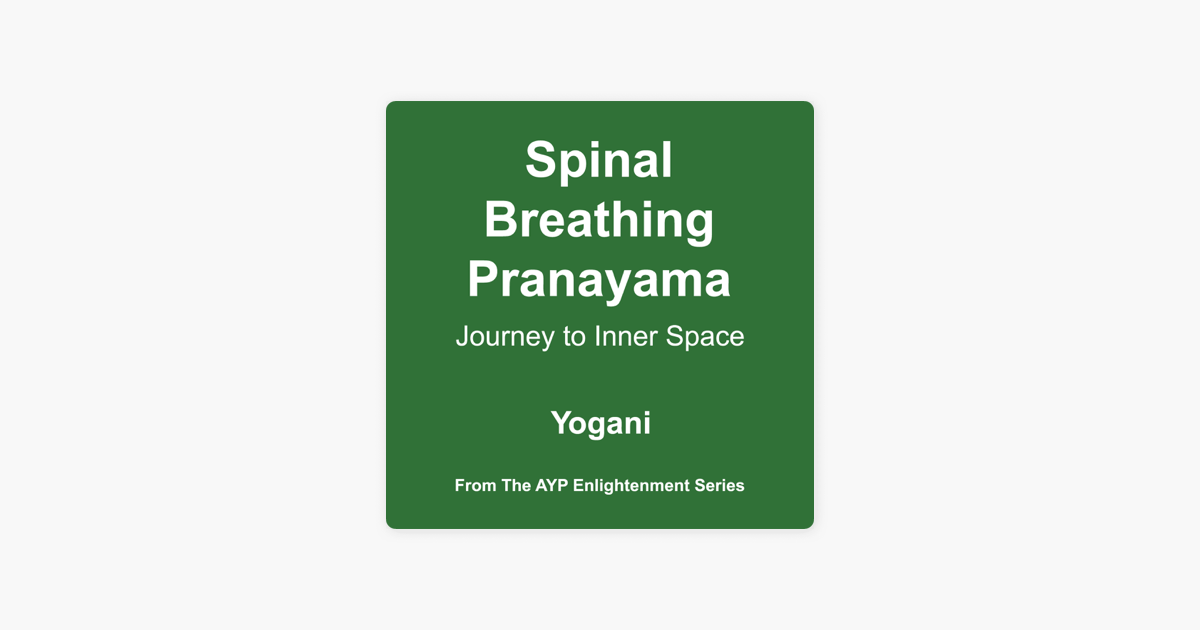 Yogani - Spinal Breathing Pranayama-Journey To Inner Space (CD NEW)