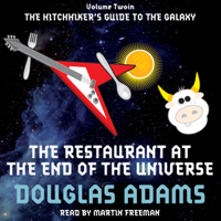 Douglas Adams - The Restaurant at the End of the Universe artwork