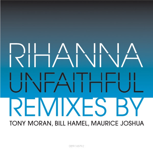 Unfaithful (Tony Moran Club Mix) - Single