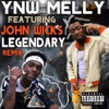 YNW Melly - Legendary Remix feat John Wicks  Single Album