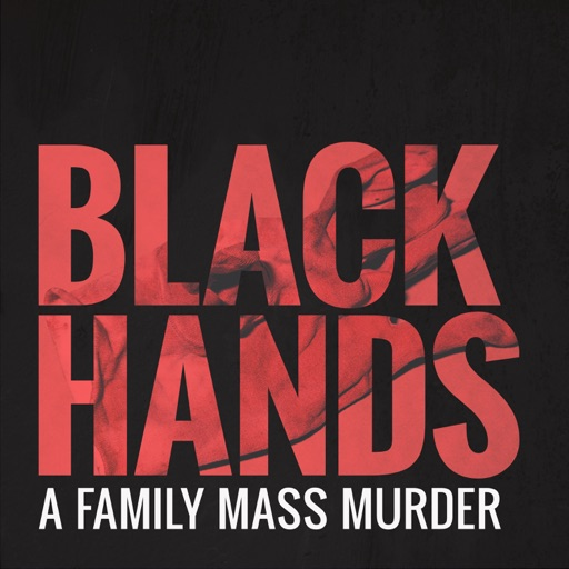 Cover image of BLACK HANDS - A family mass murder