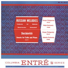 ‎Russian Melodies (Remastered) by Gregor Piatigorsky