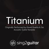 Titanium Originally Performed By David Guetta & Sia [Acoustic Guitar Karaoke] Sing2Guitar - Sing2Guitar