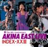 Akina East Live Index-XXIII ジャケット写真