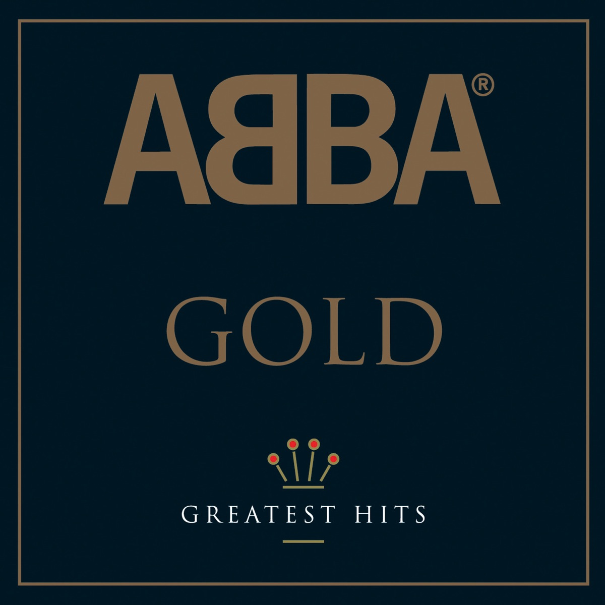 Gold Greatest Hits ABBA CD cover