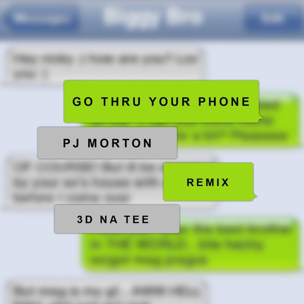Go Thru Your Phone (Remix) [feat. 3D Natee] - Single