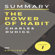 Swiftread - Summary: The Power of Habit by Charles Duhigg: More Knowledge in Less Time (Unabridged)