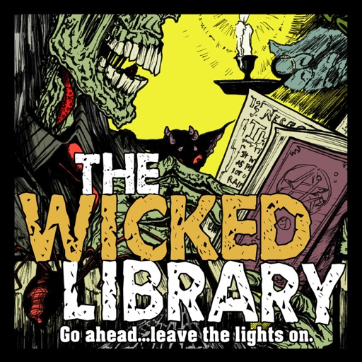 Cover image of The Wicked Library
