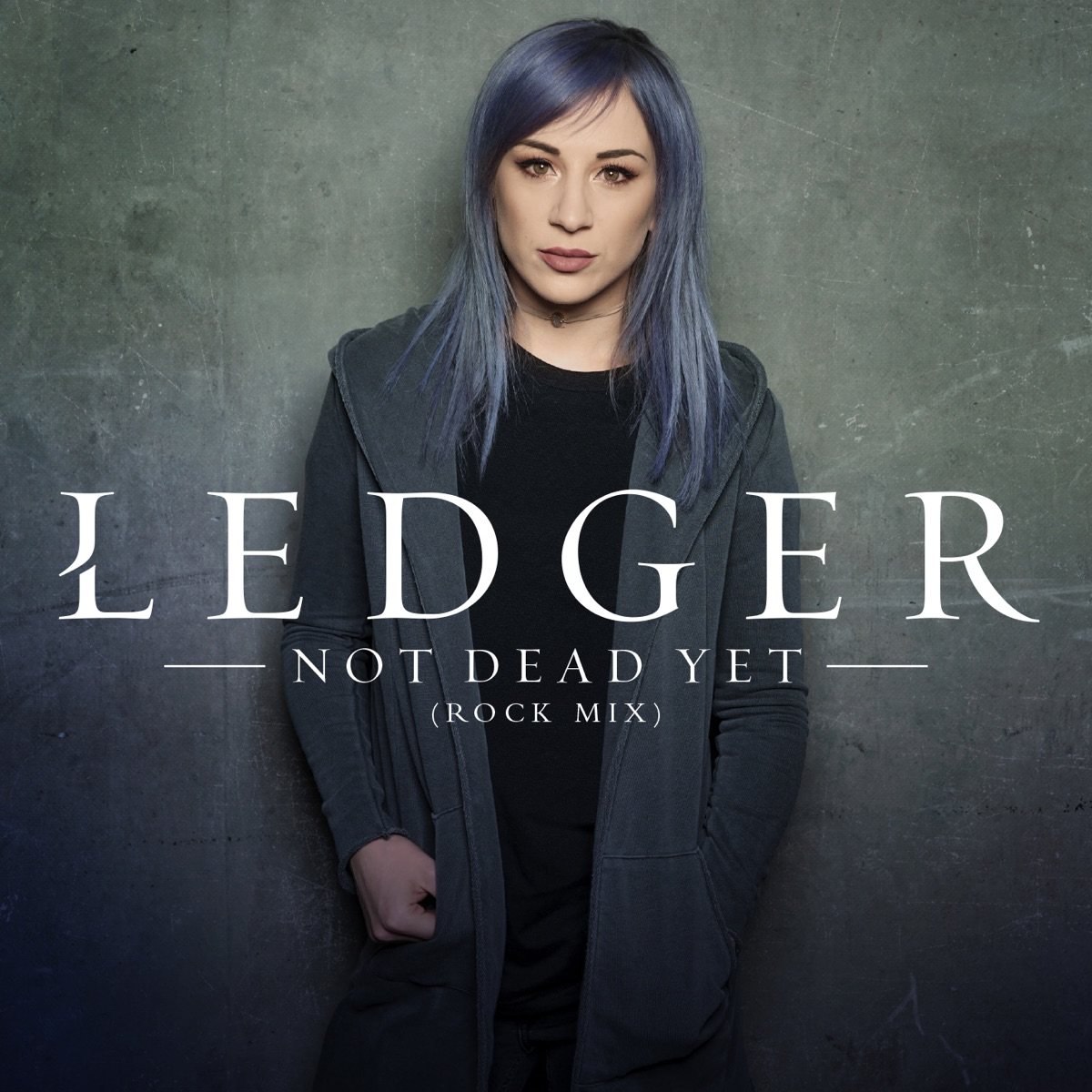 Not Dead Yet Rock Mix - Single Ledger CD cover