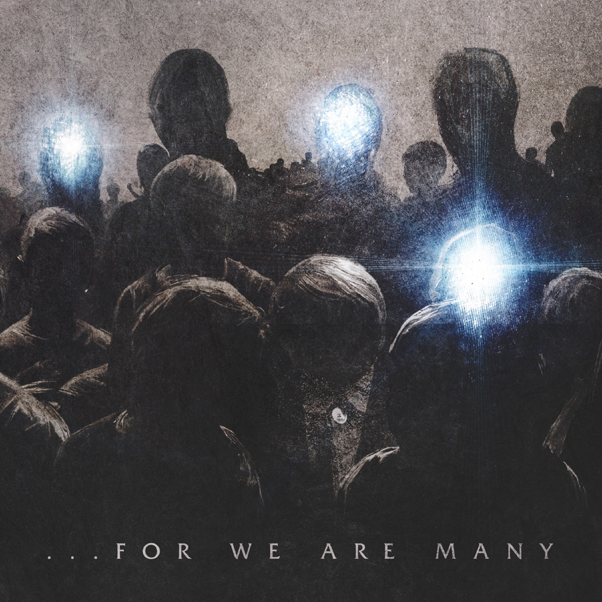 For We Are Many All That Remains CD cover