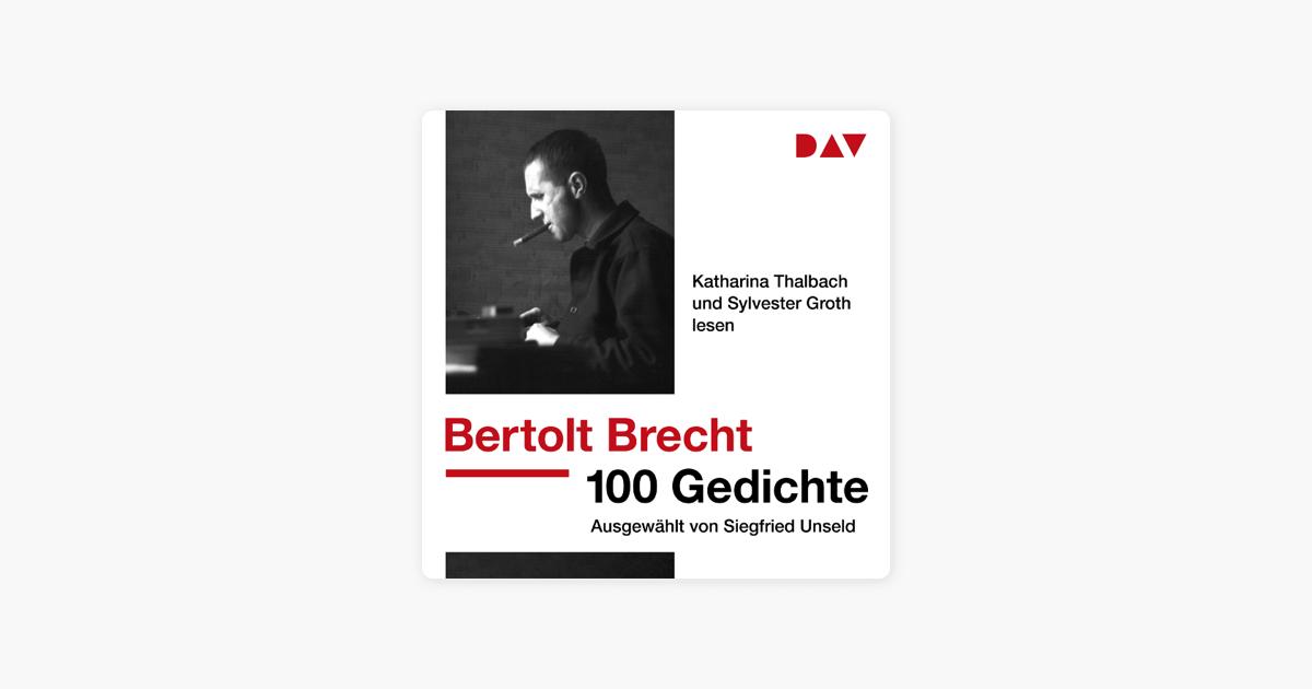 100 Gedichte Ausgewählt Von Siegfried Unseld