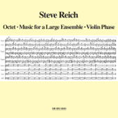 Steve Reich: Octet - Music for a Large Ensemble - Violin Phase