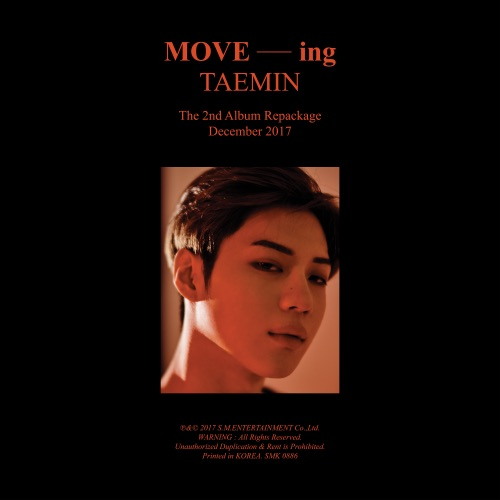 TAEMIN - MOVE-ing - The 2nd Album Repackage - EP