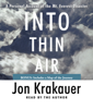 Jon Krakauer - Into Thin Air: A Personal Account of the Mt. Everest Disaster (Abridged)  artwork