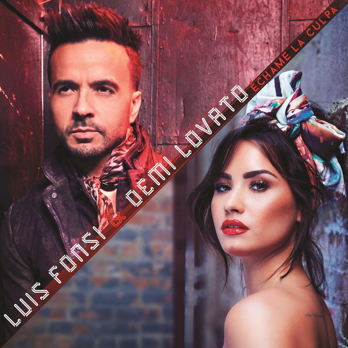 Échame la Culpa - Single Luis Fonsi  Demi Lovato CD cover