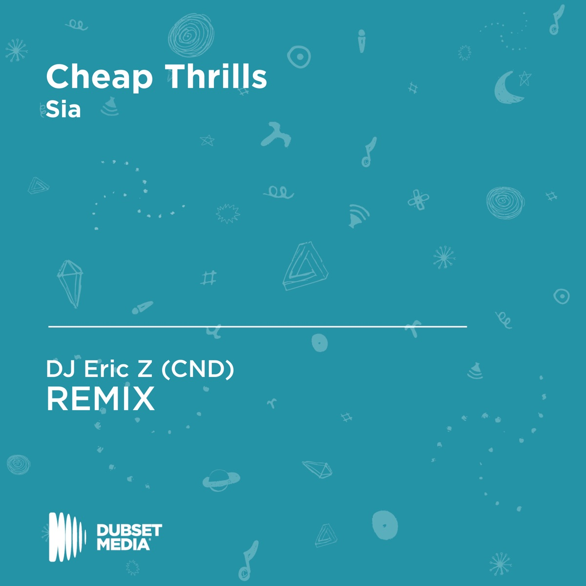 Cheap Thrills Album Cover by DJ Eric Z (CND)