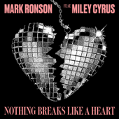 Nothing Breaks Like a Heart (feat. Miley Cyrus) - Mark Ronson Cover Art
