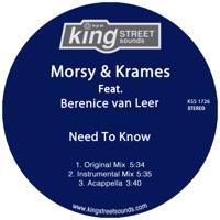 Need to Know - MORSY-KRAMES-VAN LEER