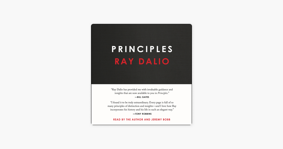 Principles (Unabridged) - Ray Dalio