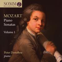 ピーター・ドノホー - Mozart: Piano Sonatas, Vol. 1 artwork