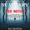 Readtrepreneur Publishing - Summary: Red Notice: A True Story of High Finance, Murder, and One Man's Fight for Justice (Unabridged)  artwork