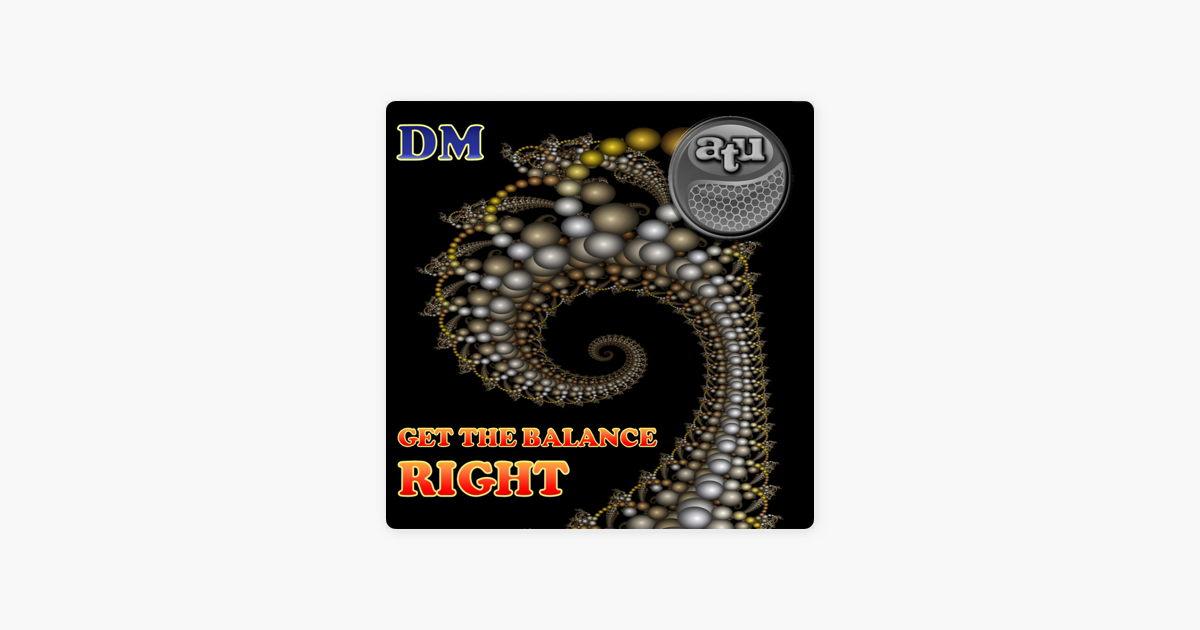 Get the Balance Right (Instrumental) - Single by ATU