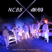 N.C.B.B - BURN OUT - EP artwork