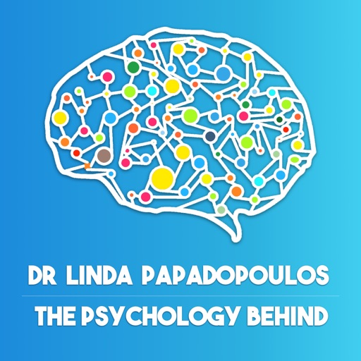 Cover image of The Psychology Behind with Dr Linda Papadopoulos