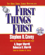 Stephen R. Covey - First Things First (Abridged)