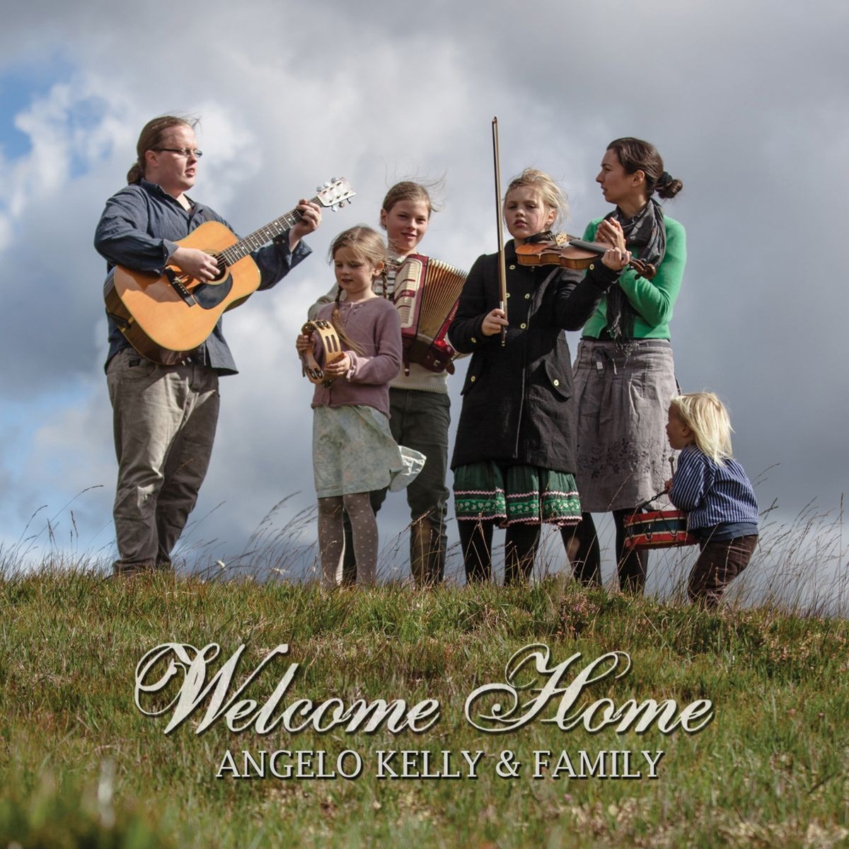 Welcome Home Angelo Kelly CD cover