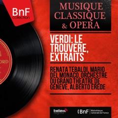 Verdi: Le trouvère, extraits (Mono Version)