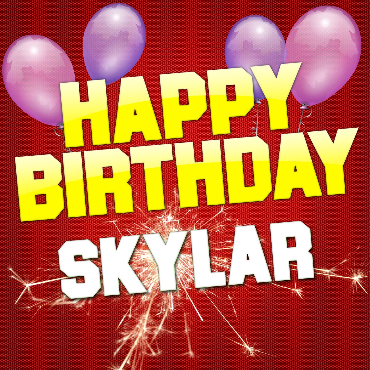Happy Birthday Skylar EP Album Cover by White Cats Music