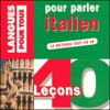 Pierre Noaro, Henri Louette & Paolo Cifarelli - 40 leçons pour parler italien artwork
