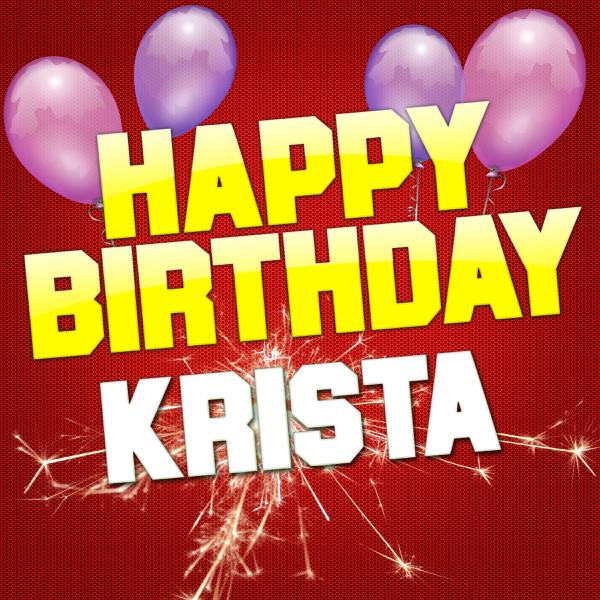 Happy birthday krista