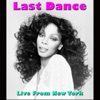Last Dance (Live from New York) ジャケット写真