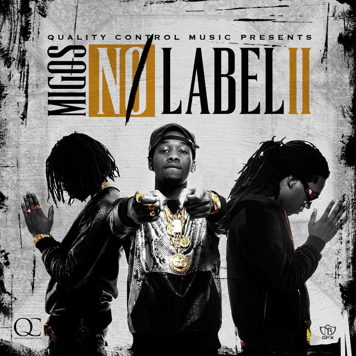 No Label II Migos CD cover