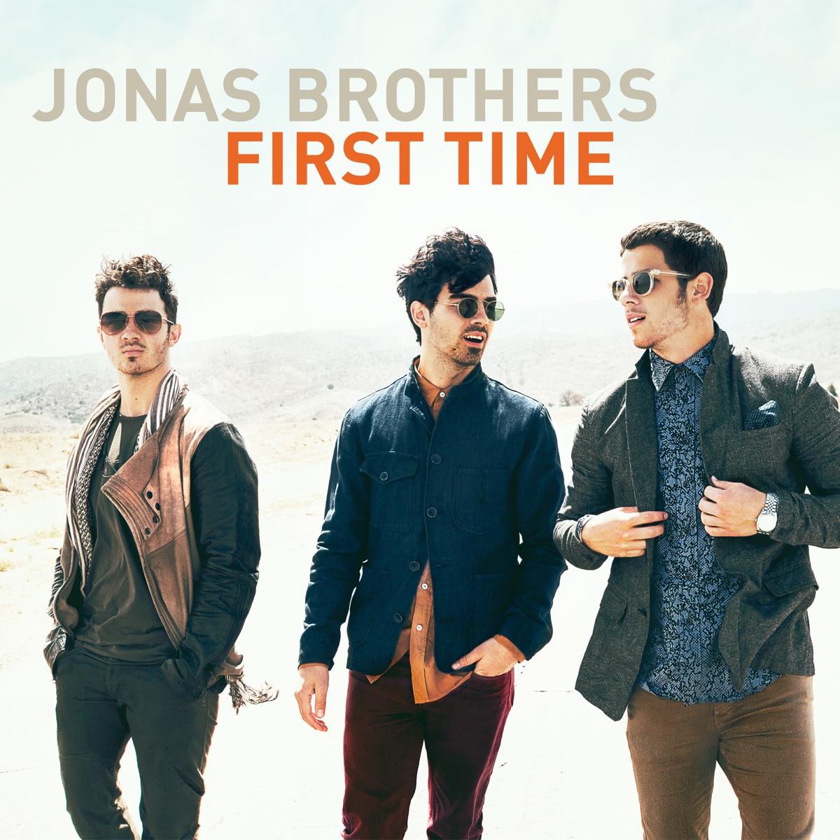 First Time - Single Jonas Brothers CD cover