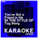 You've Got a Friend in Me (In the Style of Toy Story) [Karaoke Version] - Ameritz Digital Karaoke