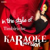 Karaoke (In the Style of Timbiriche)