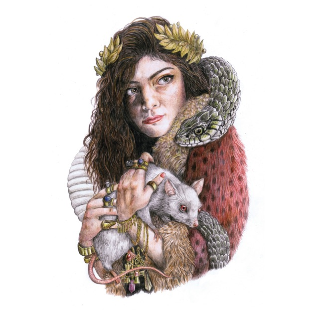 Image result for Lorde the love club