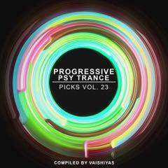 Progressive Psy Trance Picks, Vol.23