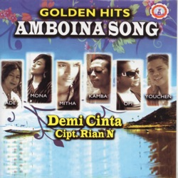 Golden Hits Amboina Song - Various Artists Album Cover
