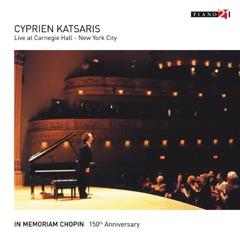 Live at Carnegie Hall, New York City - Vol. 2 (In Memoriam Chopin. 150th Anniversary)