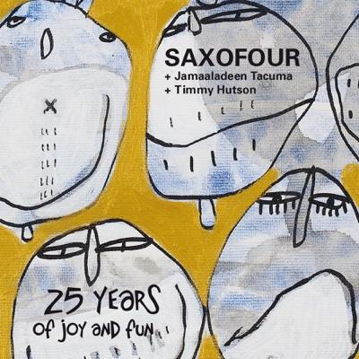 25 Years of Joy and Fun - SaxoFOUR album