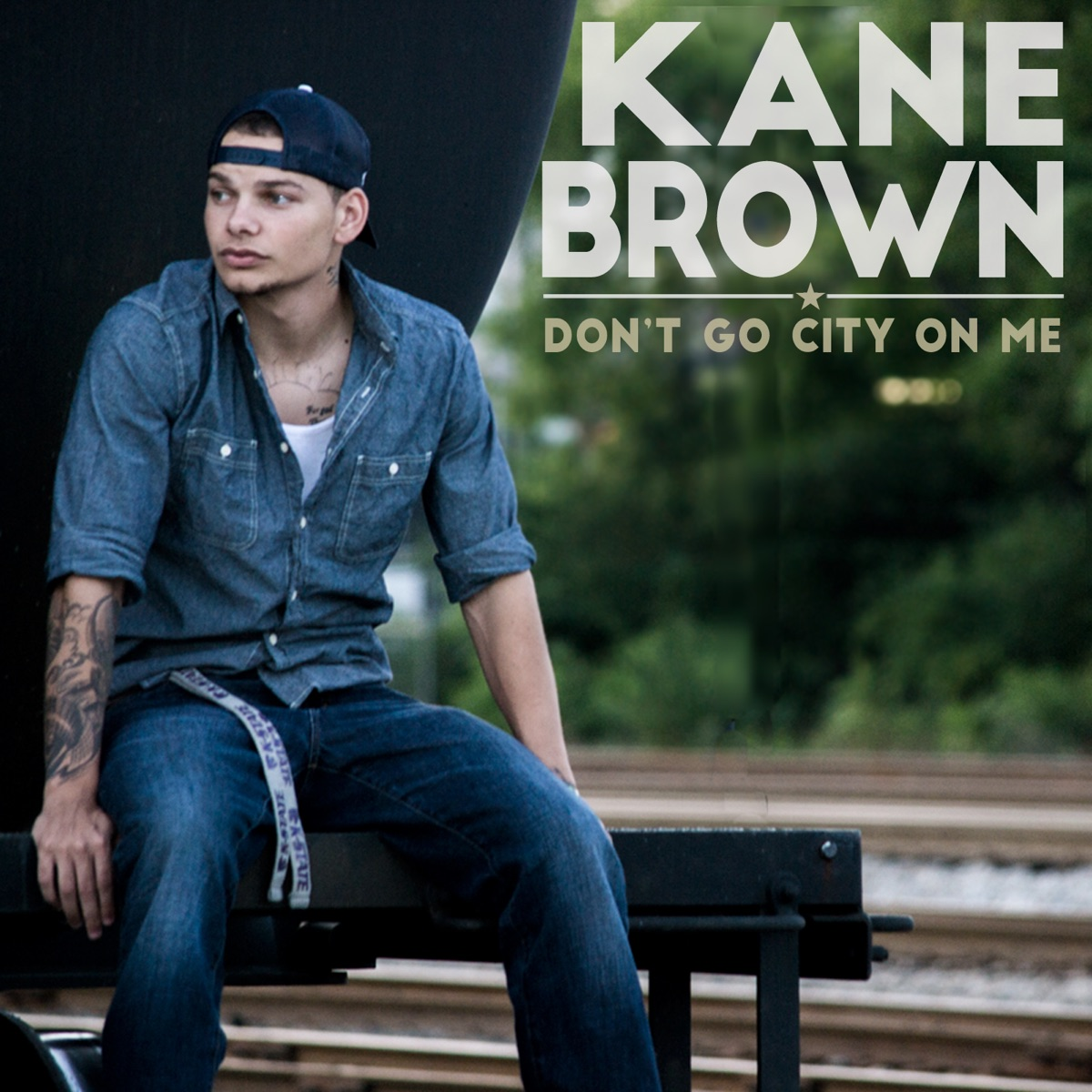 Dont Go City on Me - Single Kane Brown CD cover