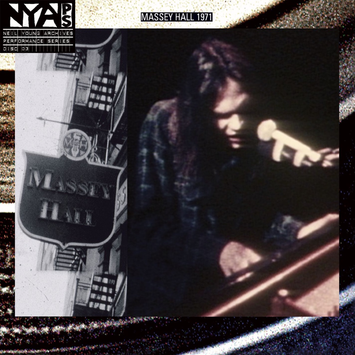 Live At Massey Hall 1971 Deluxe Version Neil Young CD cover