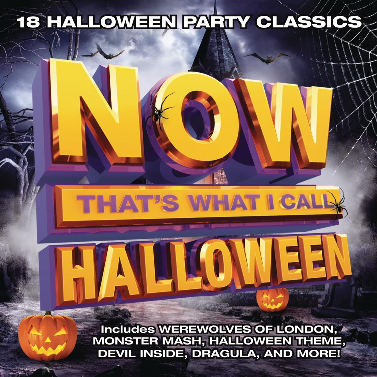 now that's what i call halloween album covervarious artists