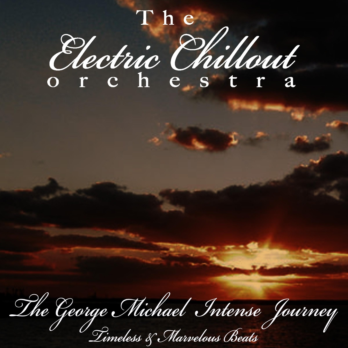 The George Michael Intense Journey The Electric Chillout Orchestra CD cover