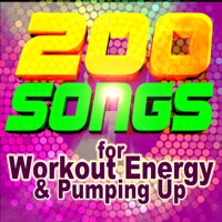 Various Artists - 200 Songs for Workout Energy & Pumping Up (ideal for fitness, cardio, aerobics, running, spin, cycle)