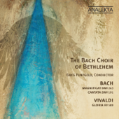 Magnificat in D Major, BWV 243: I. Magnificat anima mea - The Bach Choir of Bethlehem, Daniel Taylor, Daniel Lichti, Benjamin Butterfield & Greg Funfgeld